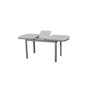 Table extensible de balcon Keneah muscade lin 135/175X75 256820