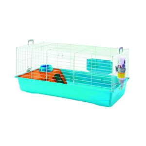 Cage pour lapins nains Nero 3 dl Bleu Twilight 257650
