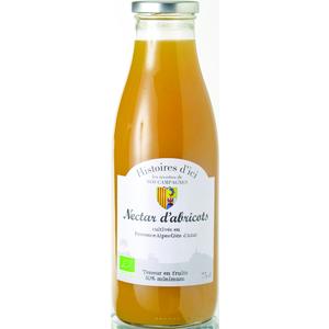 Nectar d'abricot bio  PACA Histoire d'ici 75 cl 257921