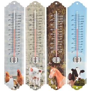 Thermomètre animaux de la ferme 6,8x1,3x29,6 cm 259490