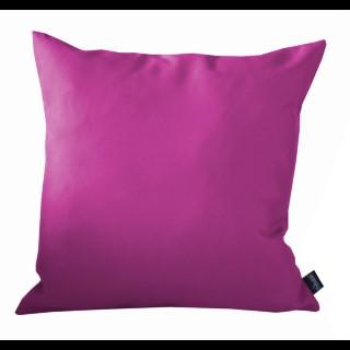 Coussin polyester framboise 40x40 cm 259744