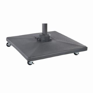 Pied pour parasol déporté de 50 kg en ciment et pvc 259993