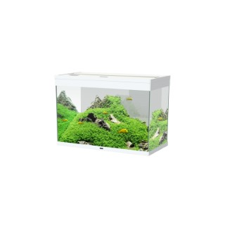 Aquarium Émotions Nature Pro 80 Blanc 142 L LED 81x40x55 cm 260129