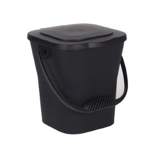 Seau à compost gris foncé - 6L 260294
