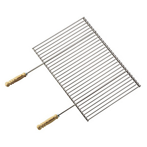 Grille pro 90 pour barbecue 90 x 66 cm 260322
