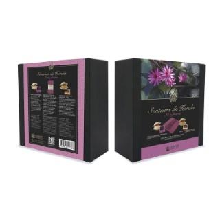 Coffret senteurs du Kerala-Note fleuri KARAWAN 260504