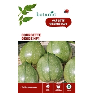 Courgette geode hybride f1 x2 sachets 261166