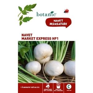 Navet market express hybride f1 Insolite x2 sachets 261284