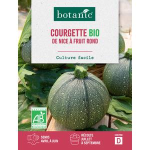 Courgette de Nice à Fruit Rond AB BIO 261386