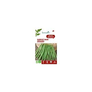 Graines de haricot nain organdi extra-fin sans fil bio botanic® x 80 261462