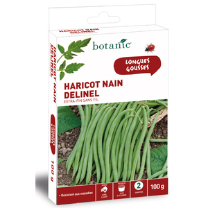 Haricot Nain delinel Extra-Fin sans Fil 200 gr 261477
