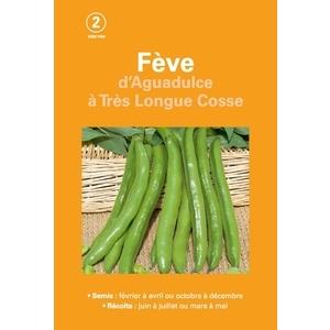 Fêve d'aguadulce à très longue cosse  200 gr 261512