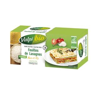 Feuilles de lasagnes maïs-riz bio 250g 263042