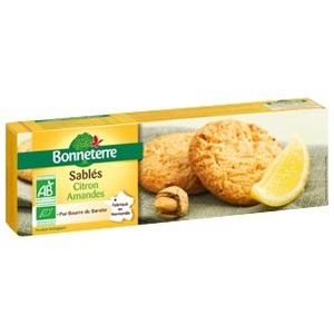 Sablé citron amandes pur beurre - 150 g 263444
