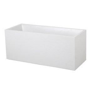 Bac GRAPHIT blanc cérusé L.100 x l.40 x H.40 cm 263675