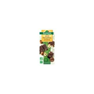 Chocolat noir aux noisettes entières - 200 gr 264196