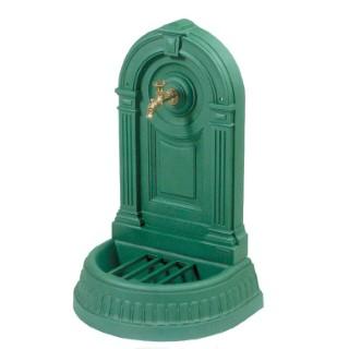 Fontaine Empire de couleur verte avec robinet Colvert - 98 cm de haut 272036
