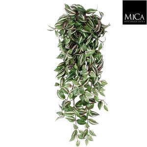 Tradescantia artificiel vert en chute 80x30x15 cm 274470