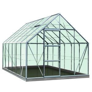 Serre Verre 9,9 m² en aluminium 275338