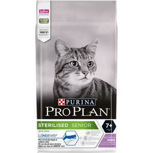 Croquettes pour chat stérilisé de plus de 7 ans Pro plan 1,5 kg 275746