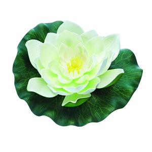 Nénuphar factice Pontec Pondo Lily blanc 276436