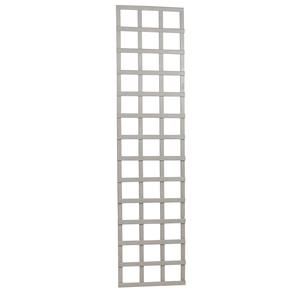 Treillis Mariana mélèze cérusé blanc 45x180 cm 276526