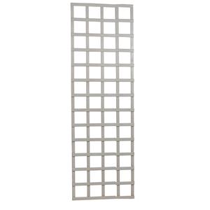 Treillis Mariana mélèze cérusé blanc 60 x 180 cm 276529