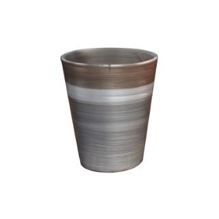 Pot Sydney esprit délicatesse en terre cuite émaillée H 44 x Ø 37 cm 276814