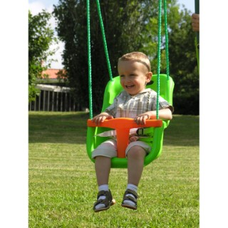Siège bébé pour portique vert clair 277054