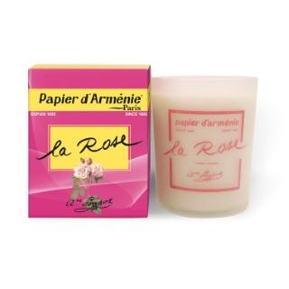 Bougie La Rose Papier d'Arménie 277413