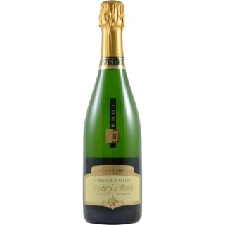 Crémant d'Alsace brut traditionnel bio 75 cl 278361