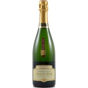 Crémant d'Alsace demi-sec bio 75 cl 278362