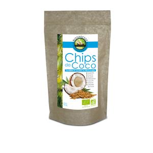 Chips de coco au muscovado bio en sachet de 90 g 278422