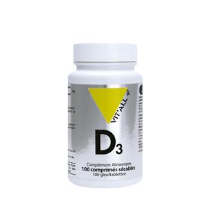 Vitamine D3 vit'all + en format de 100 comprimés 279698