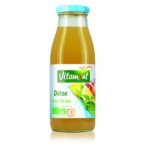 Boisson détox thé vert citron bio 50 cl 279878