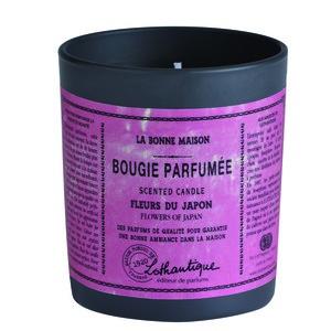 Bougie ronde parfumée aux Fleurs du japon - 160g 280272