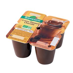 Crème dessert au chocolat - 4 x 100 gr 280519