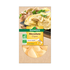 Mezzelunes aux cepes et gorgonzola 250 g 280524