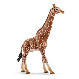 Figurine girafe mâle Série Animaux sauvages 12,7x4,4x17 cm 280631