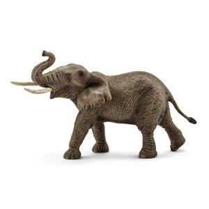 Figurine Eléphant d'Afrique mâle Série Animaux sauvages 19,5x9x12,3 cm 280638