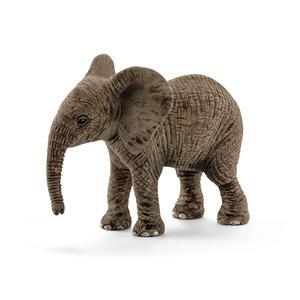 Figurine Éléphanteau d'Afrique Série Animaux sauvages 6,8x3,5x5,5 cm 280639