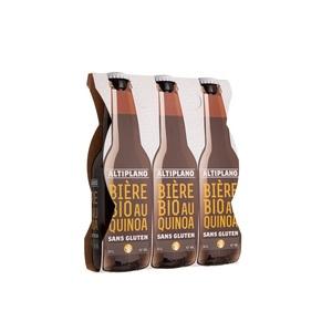 Bière au quinoa bio pack 3 x 33 cl 280836
