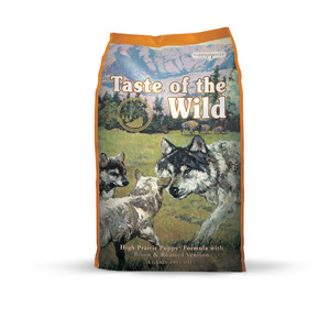 Croquettes pour chiot Taste of the wild high prairie puppy 6 kg orange 281325