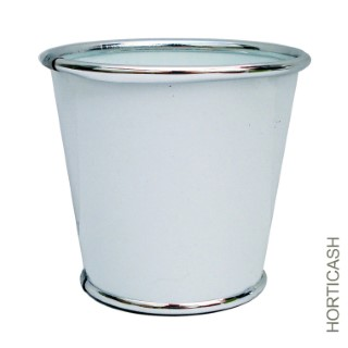 Cache-pot zinc Ø13,5xH12,7 cm 281397