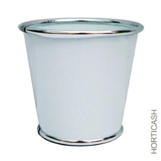 Cache-pot zinc Ø27,2xH25,5 cm 281425