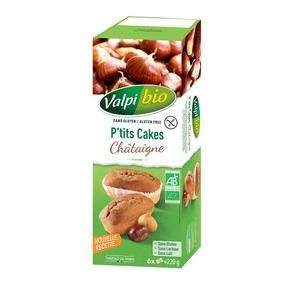 P'tits Cakes Châtaigne Bio - 180 g 281534