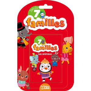 Les Animaux Jeux des 7 Familles 5 ans Éditions LITO 282605