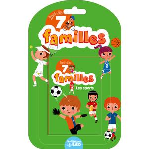 Les Sports Jeux des 7 Familles 5 ans Éditions LITO 282606
