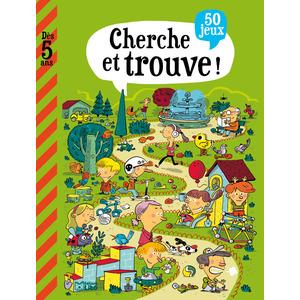 Cherche et Trouve Mon Grand Livre de Jeux 5 ans Éditions LITO 282655