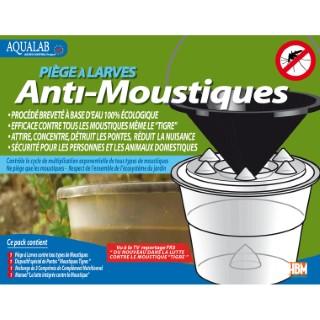 Pièges à Larves Anti-Moustiques 22x22x21 cm Pack de 5 283172